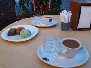 Turkish coffee Baklava blog