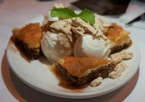 Baklava and Halva icecream