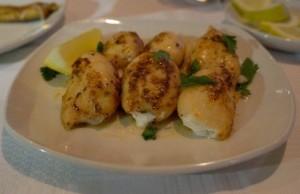 Calamari with feta