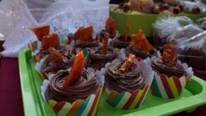 Orange and Choc Cupcakes