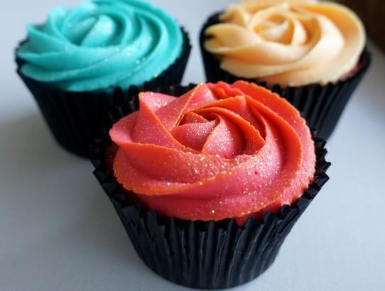 Closeup cupcake