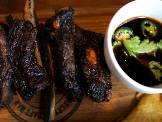 charred lamb riblets (Medium)