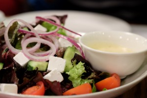 Greek salad starter